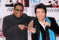 Herbie Hancock and Lang Lang at the Classical Brit Awards 2009.