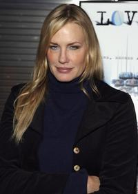 Daryl Hannah arrives at the screening of