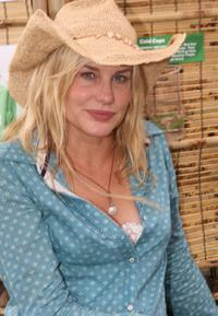 Daryl Hannah at the Virgin Festival