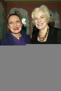 Julie Wilson and Betty Buckley at the 2004 Nightlife Awards Concert.