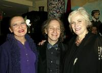 Julie Wilson, Producer Scott Siegel and Betty Buckley at the 2004 Nightlife Awards Concert.
