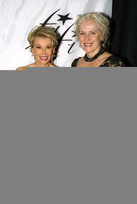Joan Rivers and Betty Buckley at the Fifi Awards.