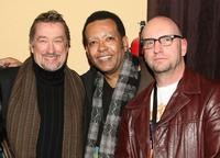 Geoffrey Gilmore, Wendell B. Harris, Jr. and Steven Soderbergh at the Sundance Institute's 25th Anniversary party during the 2009 Sundance Film Festival.