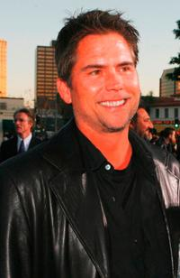 Chad Hayes at the premiere of
