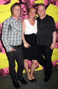 Todd Haynes, Emily Russo and director Guy Maddin at the Zeitgeist Films 20th Anniversary Celebration.