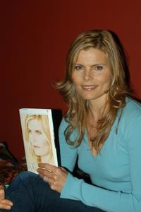 Mariel Hemingway at the store to promote her new book