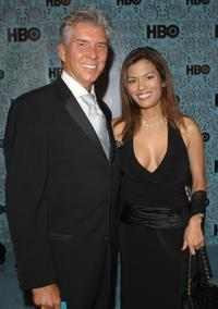 Michael Buffer and guest at the HBO Emmy after party.