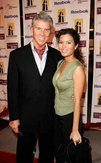 Michael Buffer and Christine Prado at the Hollywood Film Festival presentation of