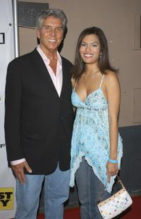 Michael Buffer and guest at the Inside E3 2005, an interactive entertainment party.