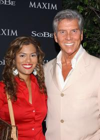 Alina and Michael Buffer at the Maim Magazine and Sobe's