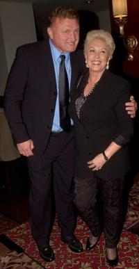 Joe Bugner and Marlene at the Launch of Australian Children's Music Foundation.