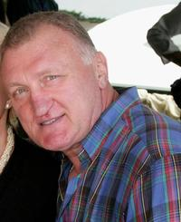 Joe Bugner at the Conrad Jupiter's Magic Millions Raceday.
