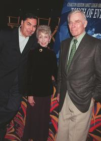 Charlton Hestonand, Valentin de Vargas and Janet Leigh at the screening of the restored version of Orson Welles classic film,