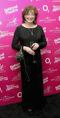 Clare Higgins at the National Theatre: Fast Forward reception.