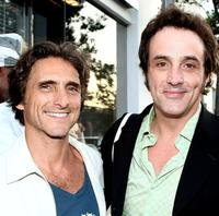 Producer Lawrence and Paul Hipp at the Nanette Lepore and the Creative Coalition's Fashion Votes event.