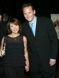 Cheri Oteri and Michael Hitchcock at the premiere of