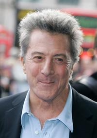 Dustin Hoffman at the UK premiere of