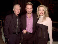 Paul Hogan, Colin Hay and Linda Kozlowski at the premiere party of