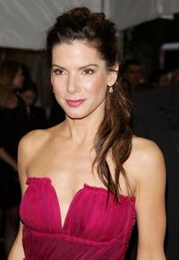 Sandra Bullock at the Metropolitan Museum of Art Costume Institute Benefit Gala