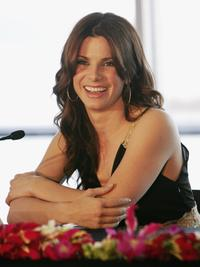 Sandra Bullock at the press conference of