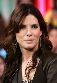 Sandra Bullock at the MTV 's Total Request Live.