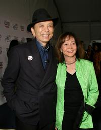James Hong and Nancy Kwan at the AFI FEST 2007.