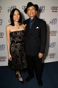 James Hong and April Hong at the AFI FEST 2007.
