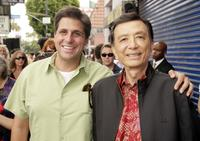 Producer Jonathan Glickman and James Hong at the premiere of
