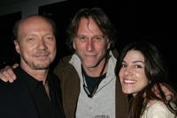 Director Paul Haggis, Peter Horton and Nicole at the Crown Royal and Tab Energy Drink's Cool Down Post Award Season Party.