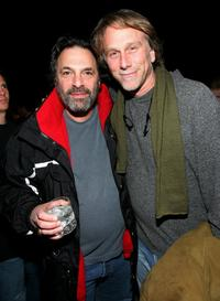 Ken Olin and Peter Horton at the Playboy's 7th Annual Super Saturday Night party.