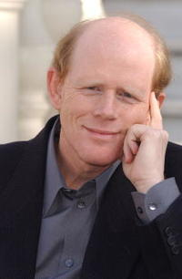 Ron Howard promoting