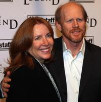 Ron Howard and guest at the New York premiere of