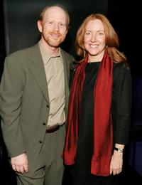 Ron Howard and wife Cheryl Howard at the
