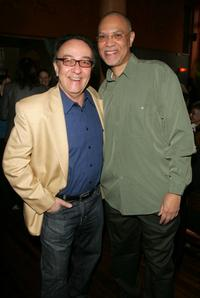 Director Peter Scarlet and Warrington Hudlin at the Tribeca All Access welcome breakfast during the 2007 Tribeca Film Festival.