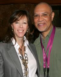 Jane Rosenthal and Warrington Hudlin at the 2007 Tribeca Film Festival.
