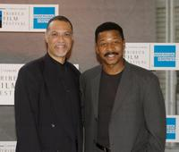 Warrington Hudlin and Director Robert Townsend at the Black Filmmaker Foundation 25th Anniversary Party during the Tribeca Film Festival.