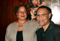 Lynn Rutledge and Warrington Hudlin at the special screening of