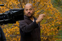Director Allen Hughes on the set of