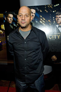 Director Allen Hughes at the Chicago premiere of