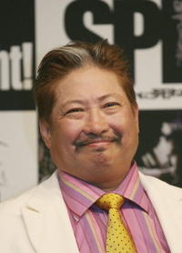 Sammo Hung at the press conference of