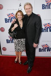 Patricia Heaton and her husband David Hunt at the launch party of BritWeek.