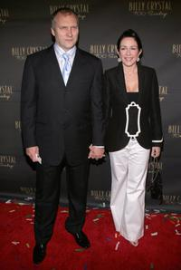 David Hunt and Patricia Heaton at the opening night of Billy Crystals