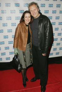 Patrica Heaton and David Hunt at the Cure Autism Now's 3rd Annual Acts of Love fundraising event.