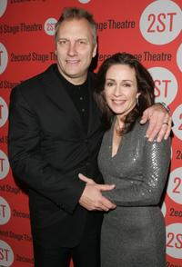 David Hunt and Patricia Heaton at the after party of the Second Stage Theatre opening night of