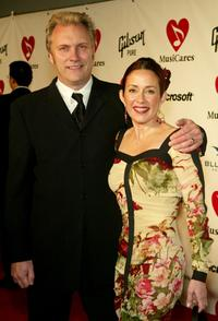 David Hunt and Patricia Heaton at the MusiCares 2004 Person of the Year Tribute to Sting.