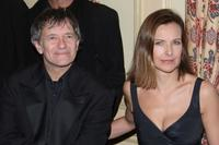 Francis Huster and Carole Bouquet at the XIeme Bal de Paris at Automobile Club de France.