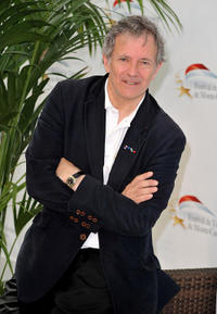 Francis Huster at the photocall of TV series