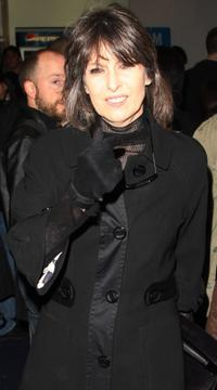 Chrissie Hynde at the Times BFI 51st London Film Festival screening of