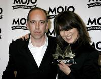 Mick Jones and Chrissie Hynde at the MOJO Honours List awards.