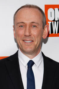 Director Nicholas Hytner at the 'One Man, Two Guvnors' Broadway opening night at the Music Box Theatre.